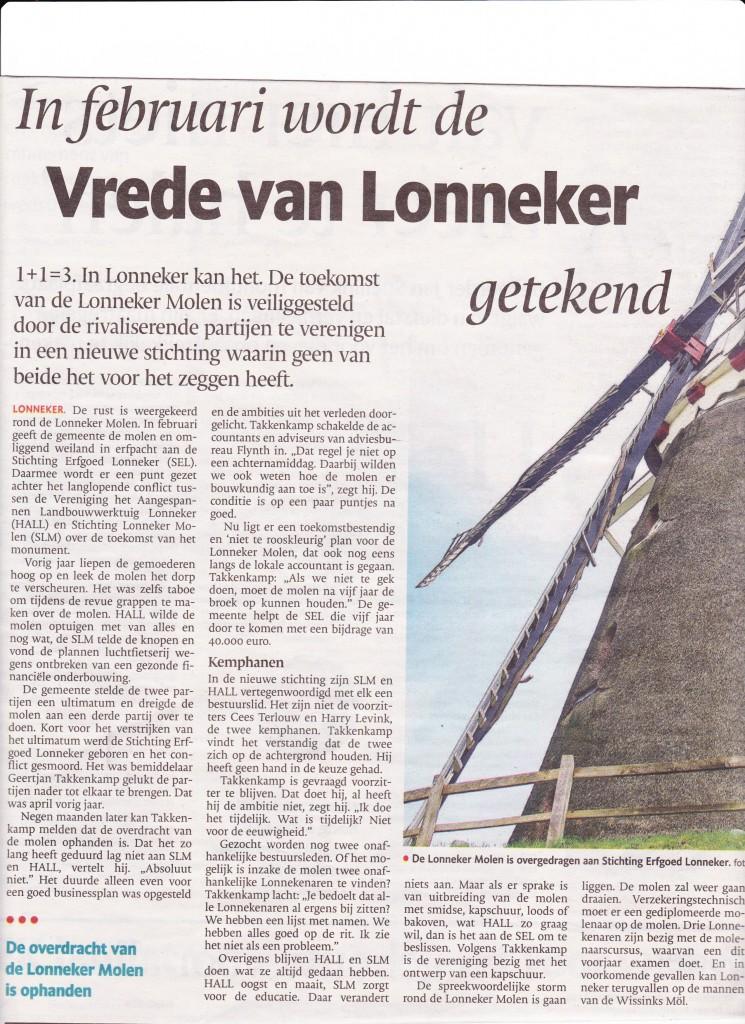vrede van Lonneker